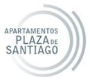 Logo Apartamentos Plaza de Santiago